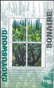 Bonaire - Forêt de cactées - Bloc-feuillet neuif