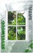 Saba - Rain forest - Mint souvenir sheet