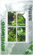 Saba - Forêt tropicale - Bloc-feuillet neuf