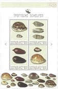 St.Eustatius - Sea Shells - Mint souvenir sheet
