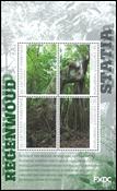 St.Eustache - Forêt tropicale - Bloc-feuillet neuf