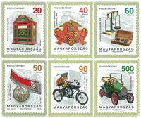 Hongrie - Histoire postale - Série neuve 6v