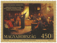 Ungarn - Religiøs frihed - Postfrisk frimærke