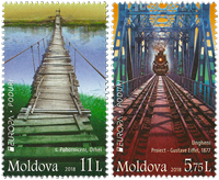 Moldova - Europa 2018 / Bridges - Mint set 2v