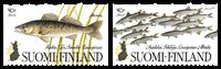 Finlandia - Peces nórdicos - Serie 2v. nuevo