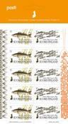 Finlande - Poissons nordiques - Feuillet neuf