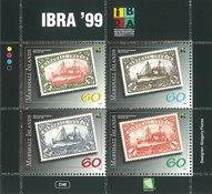 Marshall Øerne - Frimærker på frimærker - Postfrisk miniark