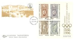 Grèce - Jeux Olympiques - Série de 3 EPJ