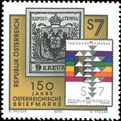 Autriche - Jubilé du timbre - Timbre neuf