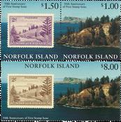 Îles Norfolk - Timbres sur timbres - Série neuve 2v