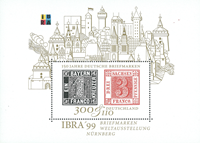 Germany - Stamp on stamp - Mint souvenir sheet