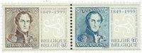 Belgique - Timbres sur timbres - Série neuve 2v