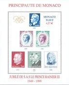 Monaco - Prince Rainier - Bloc-feuillet neuf