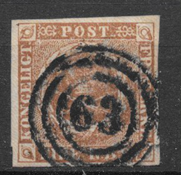 Danmark 1854 - AFA IIIC - stemplet