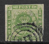 Danmark 1858 - AFA 8 - stemplet