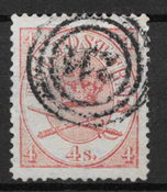 Danmark 1864 - AFA 13a - stemplet