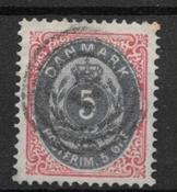 Danmark 1875 - AFA 24 - stemplet