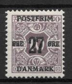 Danmark 1918 - AFA 89x - postfrisk