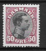 Danmark 1919 - AFA 106 - ustemplet