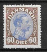 Danmark 1919 - AFA 107a - ustemplet