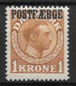 Danmark 1919 - AFA 4 - ustemplet