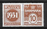 Danmark 1927 - AFA 47 - ustemplet