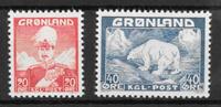Grönlanti 1946 - AFA 26-27 - Postituore