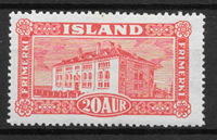 Islanti 1925 - AFA 116 - Postituore