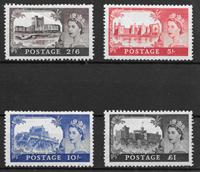 Iso-Britannia 1955 -  AFA 272-275 - Postituore