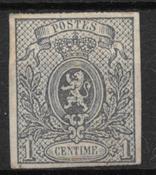 Belgien 1866 - AFA 19a - ustemplet