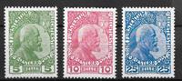 Liechtenstein 1912 - AFA 1-3 - Käyttämätön