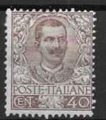Italia 1901 - AFA 74 - Käyttämätön