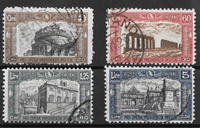 Italia 1926 - AFA 212-215 - Leimattu
