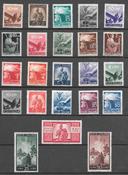Italia 1945 - AFA 614-636 - Käyttämätön