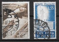 Italia 1951 - AFA 749-750 - Leimattu