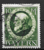 Bayern 1911 - AFA 109 - stemplet