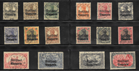 Bayern 1919 - AFA 137-152 - stemplet