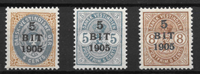 D.V.I. 1905 - AFA 33-35 - postfrisk