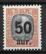 Islanti 1925 - AFA 113 - Postituore
