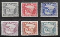 Islanti 1931 - AFA 150-155 - Käyttämätön