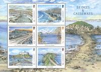 Guernesey - Europa 2018 Ponts et chaussées - Bloc-feuillet neuf
