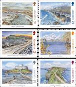 Guernsey - Bridges & Causeways - Mint set 6v