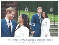 外国邮票 根西岛邮票 2018 新邮 英国威尔士亨利王子皇家婚礼纪念 - 纪念版票