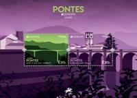 Açores - Europa 2018 Ponts - Bloc-feuillet neuf