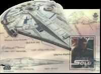 Spanien - Star Wars, Han Solo - Postfrisk miniark