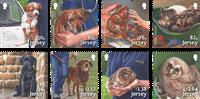 Jersey - Protección de los animales - Serie 8v. nuevo