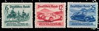 Tyske Rige 1939 - Michel 695-697 - Ubrugt