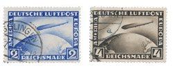 Empire Allemand - 1928 - Michel 423/424 - Oblitéré