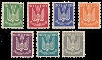 Empire Allemand - 1924 -  Michel 344/350 - Neuf avec charnières
