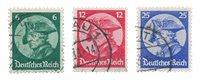 German Empire 1933 - MICHEL 479/481 - Cancelled